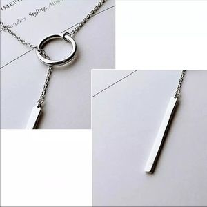 Jewelry - Long silver timeless necklace